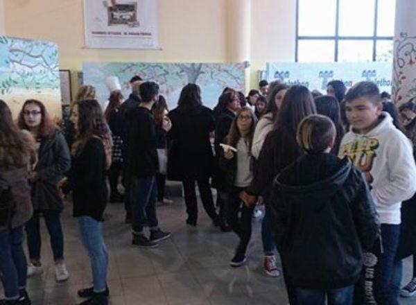 ALUNNI SCUOLE MEDIE VISITA ITI MAZZONE 2017-8