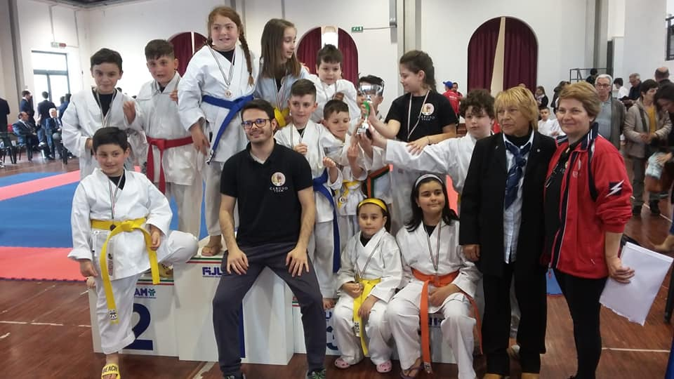 ASD Accademia Funakoshi karate-Do Cariati Società 3^ Classificata