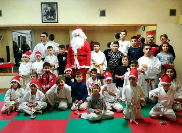 Babbo Natale Gruppo Karate