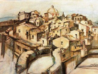 Disegno dell'arch. Saverio Liguori (1980)