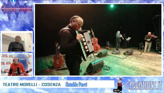 CATALDO PERRI DIRETTA 24-12-2020