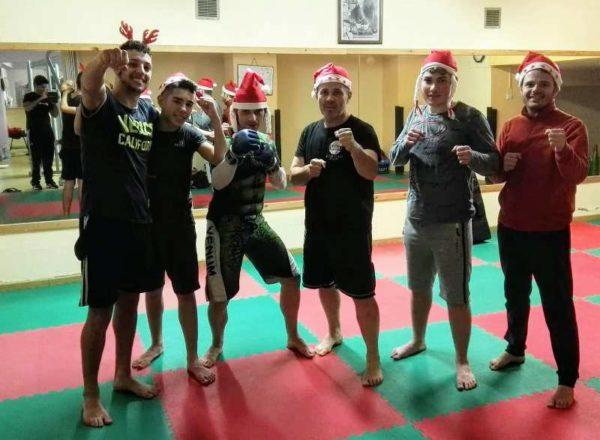 Gli atleti MMA Caruso Team Cariati