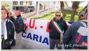 Manifestazione lavoratori LSU-LPU reggio calabria 12-11-2013