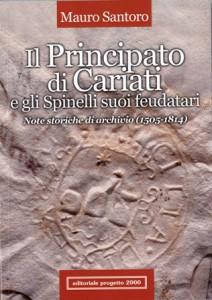 copertina Libro il principato di cariati M. Santoro