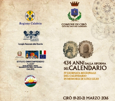 Storia Del Calendario.Tutto Pronto Per La 4 Giornata Del Calendario Cariatinet It